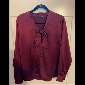 The Limited Burgundy Women's blouse